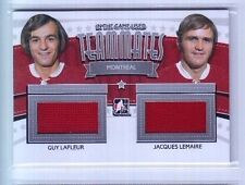 2013-14 ITG Used Guy LaFleur & Jacques LeMaire Teammates Dual Jersey SP /20