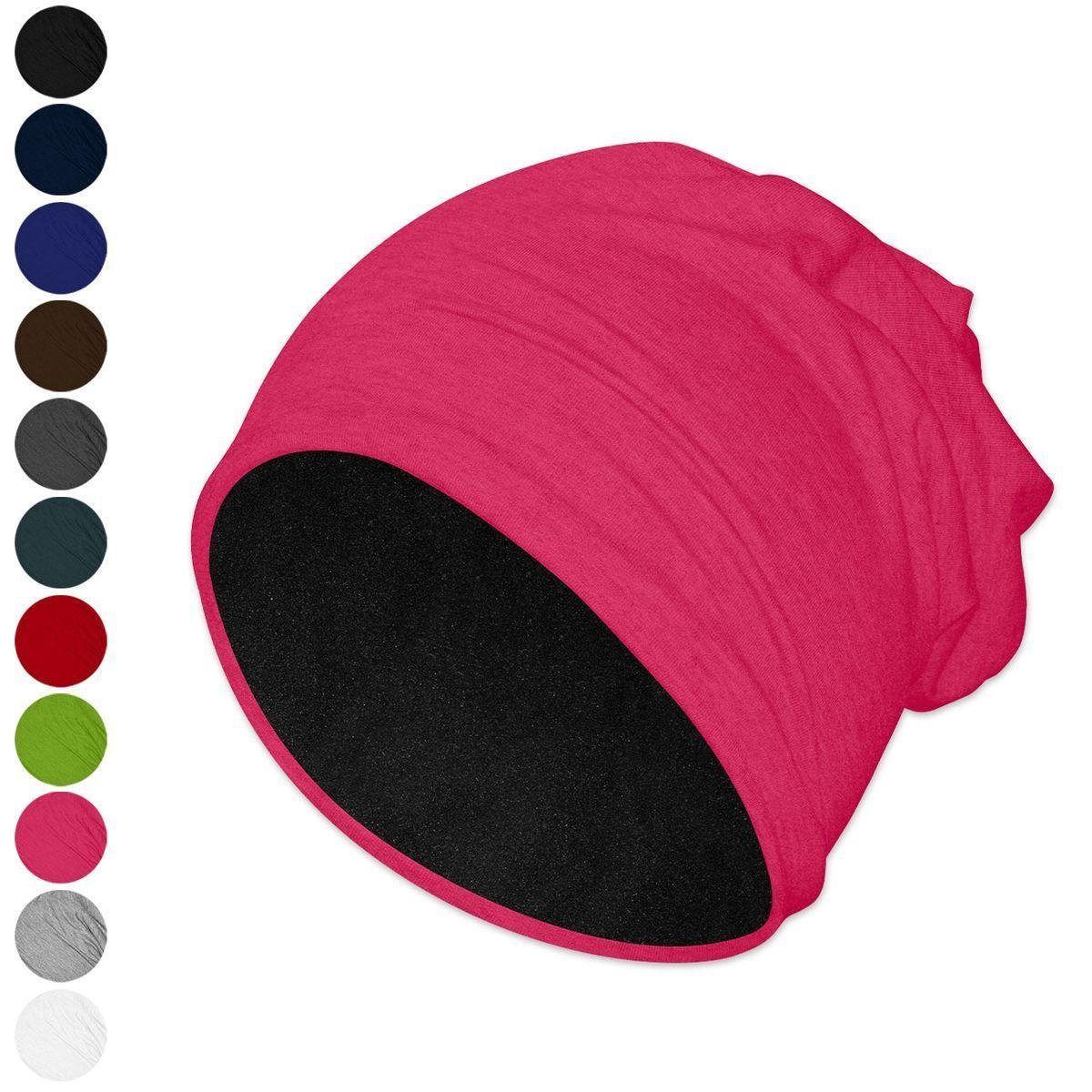 1 Mütze viele Farben Beanie schwarz grau blau braun pink grün rot weiß unisex