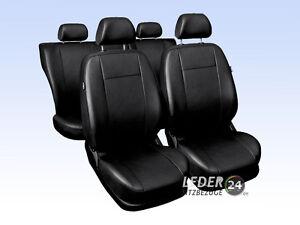 LANCIA-Y10-voiture-Housses-Housses-de-siege-cuir-simili-type-Universel-Noir