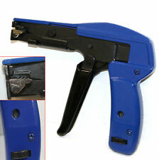 Fasten Auto Tensioning Zip Tie Amp Cut Off Gun Hand Tool For Nylon Cable Tension