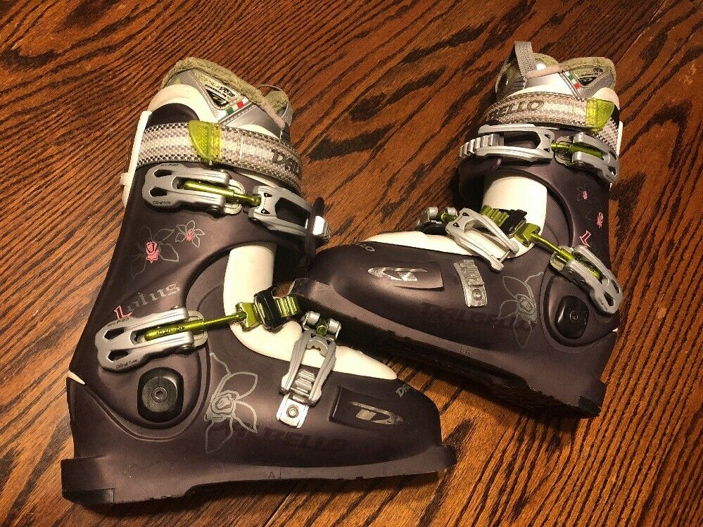 NICE Dalbello Krypton Ski Stiefel 24.5 Damenschuhe grau Skiing Gear Lotus Power Nature