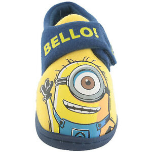 Minions-Slippers-Childrens-Despicable-Me-Slippers-Minions-Unisex-Bello-Slippers