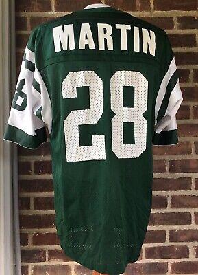 Champion New York Jets Curtis Martin Jersey Size 44   eBay