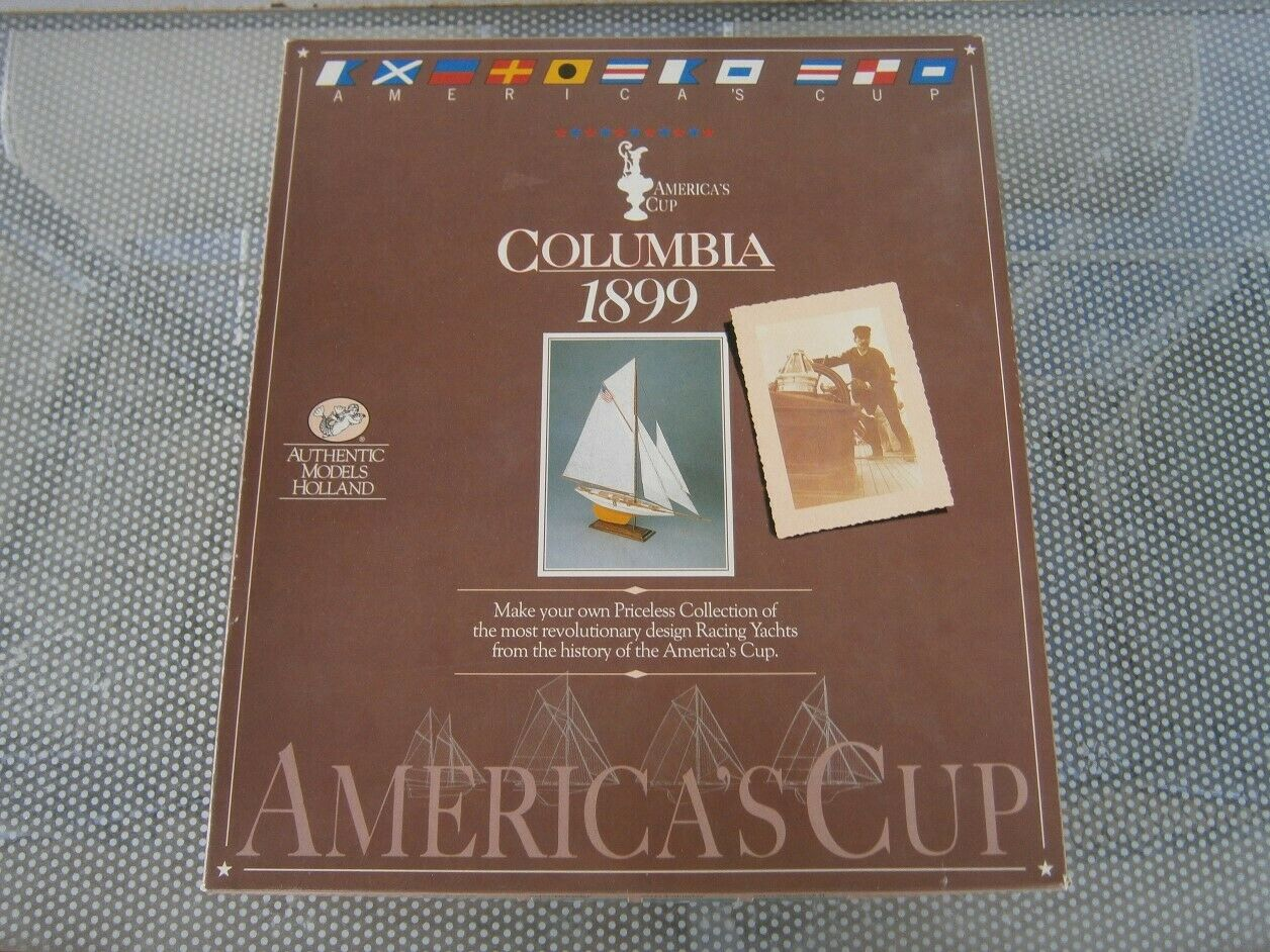 Columbia 1899 America`s Cup Authentic Models Holland SM34