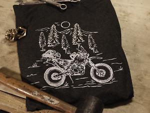 "Honda XR650L T-Shirt /""In The Woods/"""