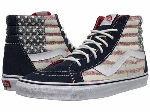 ccfde1acbd VANS Unisex Shoes Sk8-hi Reissue Americana Dress Blues Vza0gyd 9.5 for sale  online