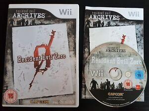 Resident-Evil-Zero-Nintendo-Wii-Wii-U-PAL-Free-Fast-P-amp-P
