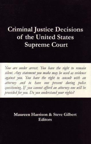 Criminal Justice Decisions of the United States Supreme Court (2003, Paperback)