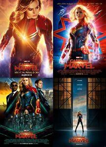 Captain-Marvel-2019-Movie-Poster-A0-A1-A2-A3-A4-A5-A6-MAXI-C399