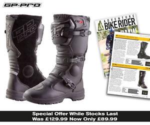 Bikeit Motorcycle Motorbike GP-Pro Comp Series 2.1 MX High Impact Resistant Boot