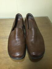 WOMEN'S NATURALIZER brown Leather Loafers SIZE 7.5