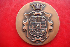 RARE SPAIN Provincial Government DAYS PIRENAICAS:GANADO LANAR HUESC NOV 77 MEDAL