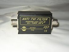 TVI Filter, Zetagi F 27, Neu + OVP