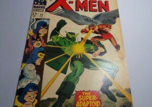 X-Men-29-When-TITANS-CLASH-Mimic-Leaves-Feb-1967-F-VF-7-0