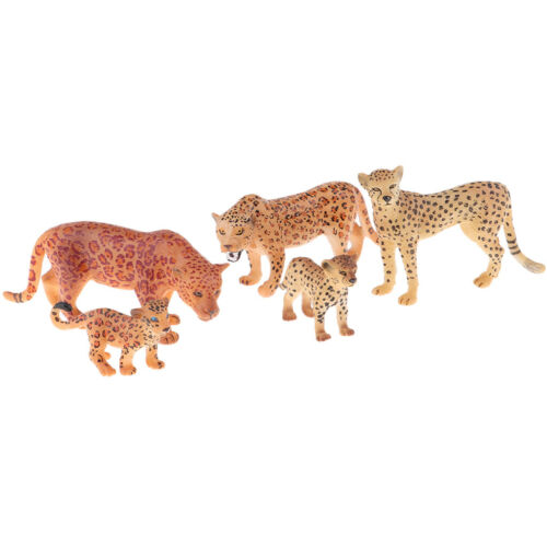 Zebra Statue Ultra Simulation Cheetah Wildlife Model Kids Gift