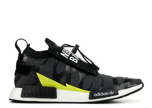a06e8a2767cc0 EE9702  MEN S ADIDAS NMD TS1 Bape x Neighborhood Black White Grey ...