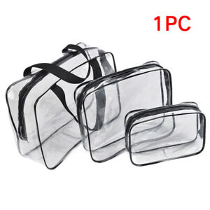 Clear-Transparent-Plastic-PVC-Travel-Cosmetic-Make-Up-Toiletry-Zipper-Bag-Pouch