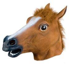 GnG Horse Head Mask Creepy Halloween Animal Costume zoo Theater Prop super hot