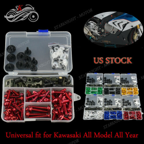 For Kawasaki Ninja 300 2013-2015 CNC Generic Motorcycle Full Fairing Bolt Kit