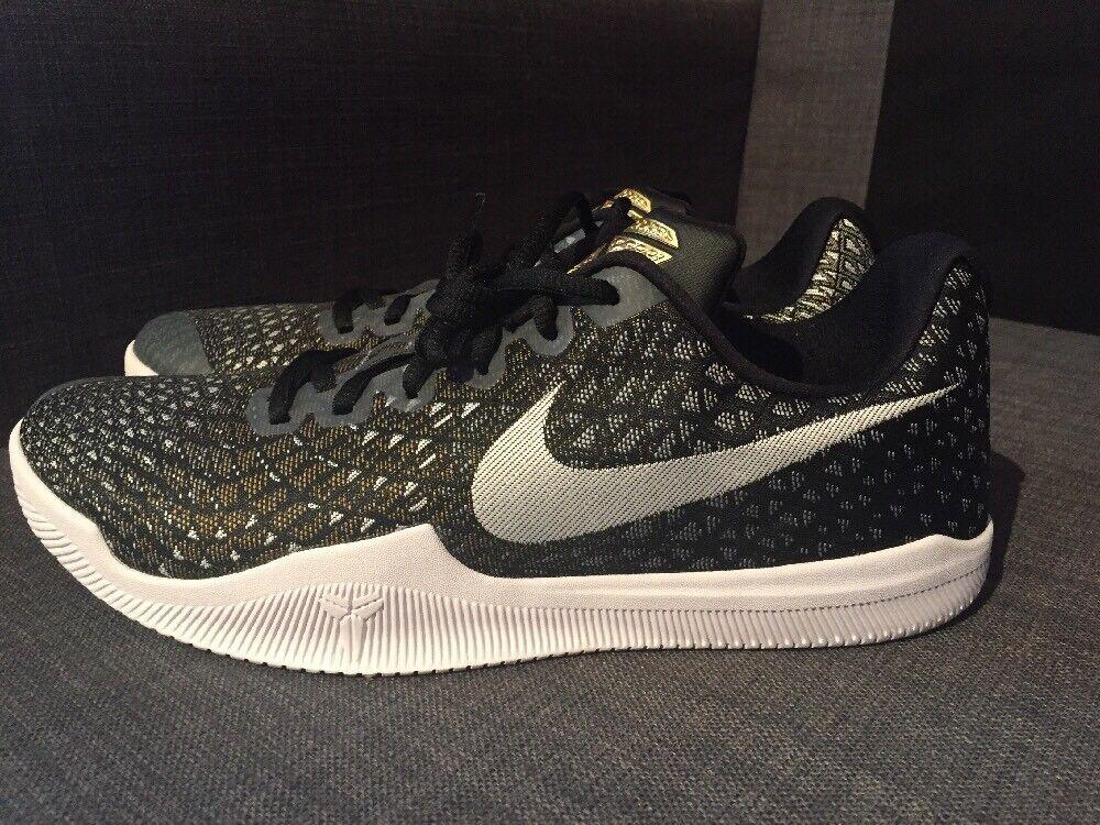 Wild casual shoes NEW Nike Kobe Mamba Instinct Men's Basketball Shoes Black/Gold Wolf 852473-010