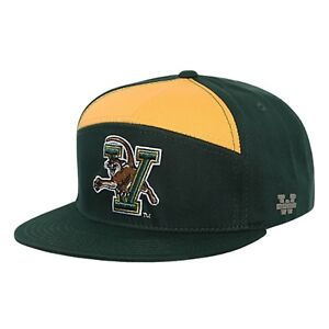 ba2f7d6aeb7 Image is loading University-of-Vermont-Catamounts-Flat-Bill-Crown-Snapback-