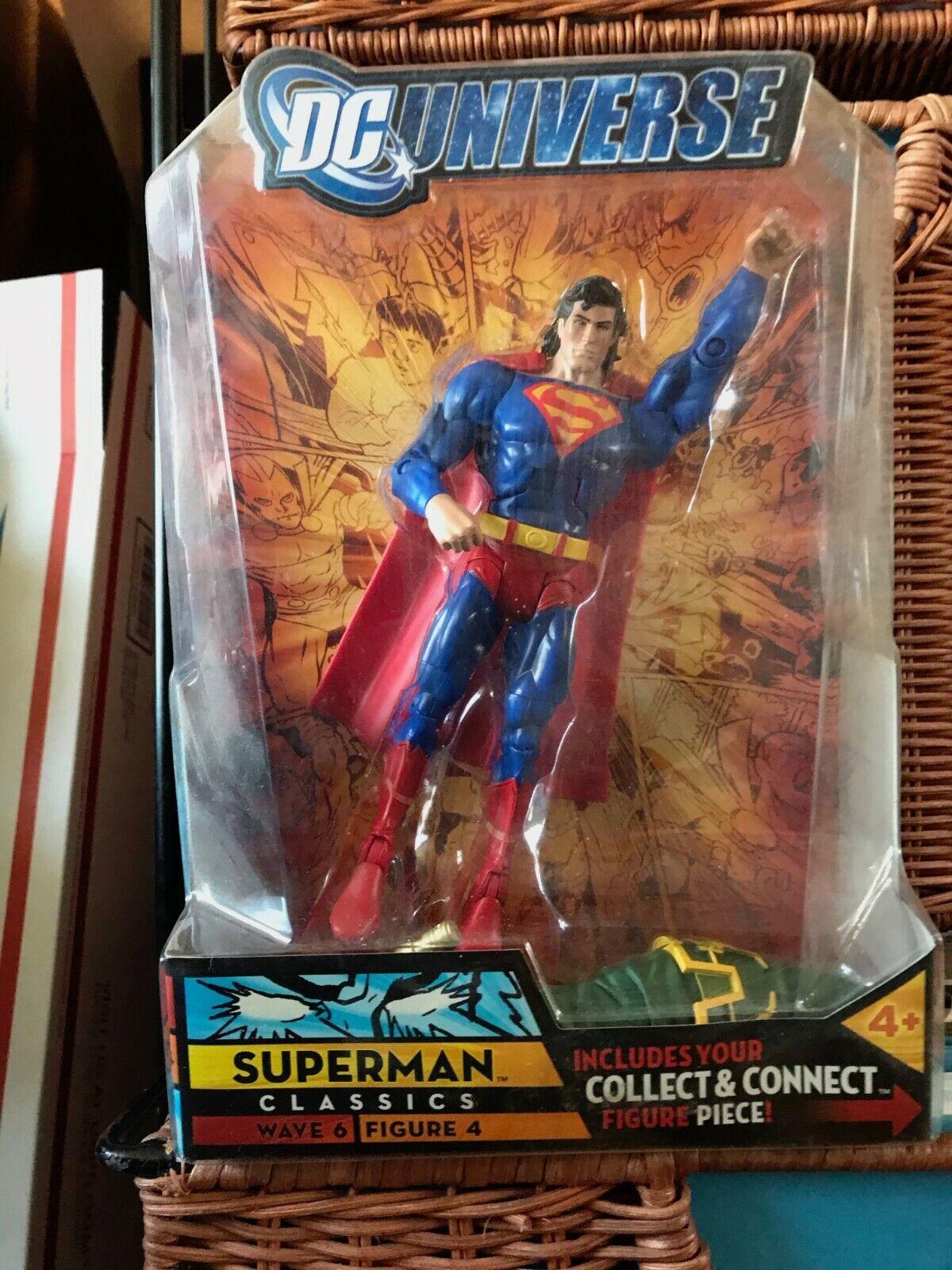 Details about  /DC Universe SUPERMAN Classics Wave 6 Figure 4