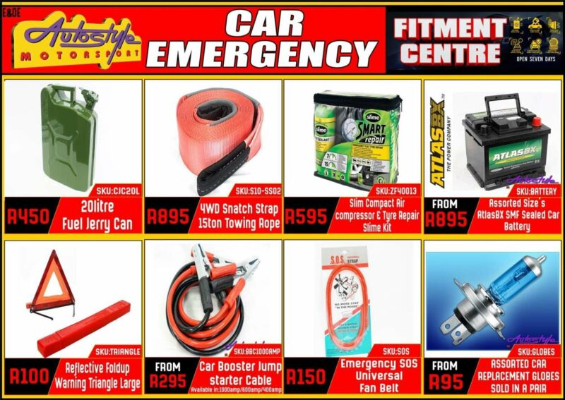 Emergency, safety, security, maintenance and general  20litre Fuel Jerry Can R450 4WD Snatch Strap 1