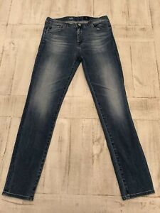 Anthropologie-AG-Adriano-Goldschmied-The-Prima-Cigarette-Leg-Mid-Rise-Jeans-31-R