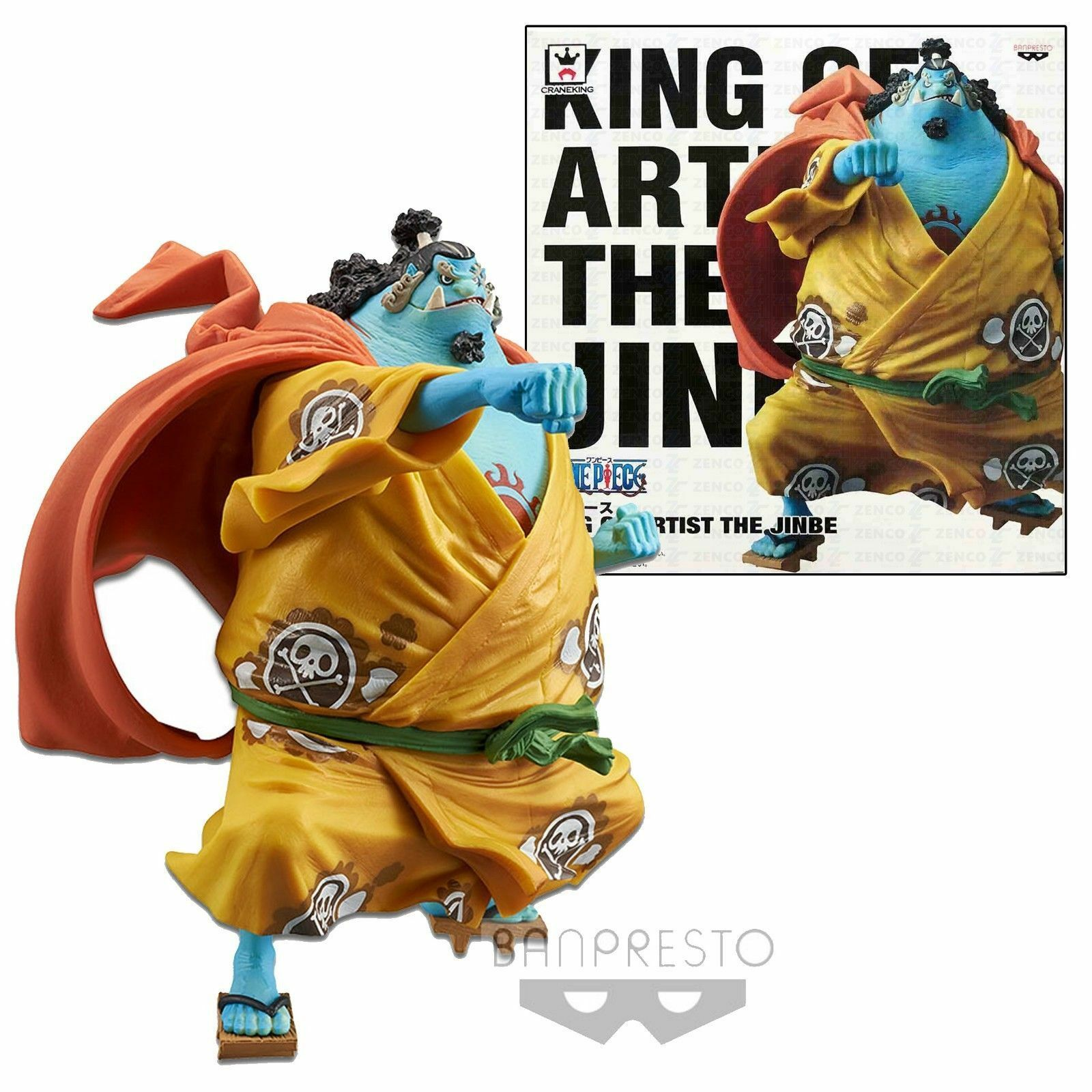 One One One Piece Figure King of Artist Jinbe cf1851