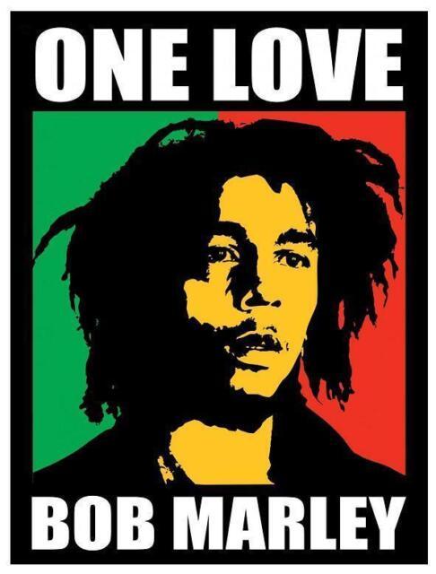 Bob Marley # 11 - 8 x 10 Tee Shirt Iron On Transfer One Love