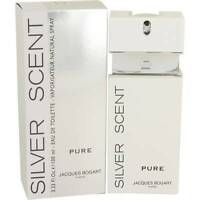 Jacques Bogart Silver Scent Pure Cologne Men 3.4 Oz Eau De Toilette Spray