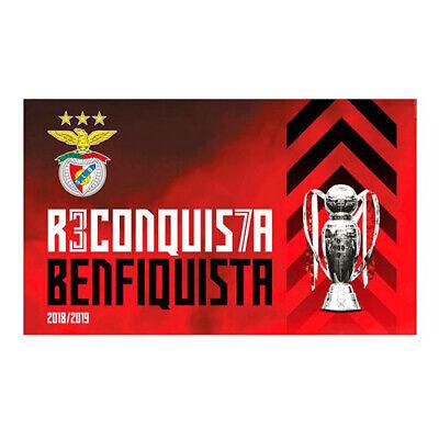 BENFICA SLB Lisbon Portugal UEFA Football Soccer Black T-SHIRT NEW Benfiquistas