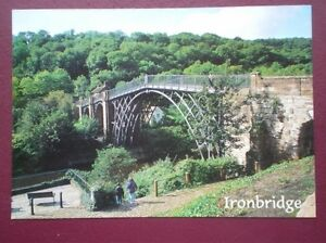 POSTCARD SHROPSHIRE IRONBRIDGE - Tadley, United Kingdom - POSTCARD SHROPSHIRE IRONBRIDGE - Tadley, United Kingdom