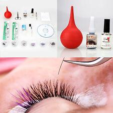Pro False Eyelash Extension Kit Eye Lashes Eyelash Nipper Makeup Cosmetic Tool