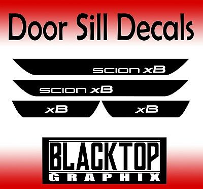 "Scion iM Door Sill Decals JDM VIP /""SCION STYLE/"" Toyota"