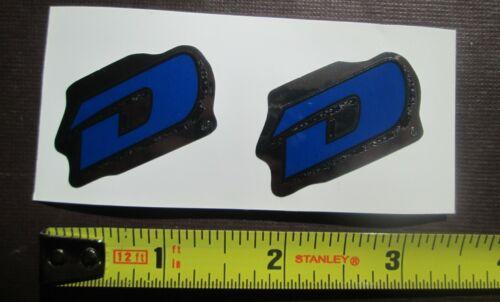 "Set of GT DYNO /""D/"" Stickers frame//fork//DARK BLUE//BLACK//CHROME FREE SHIPPING"