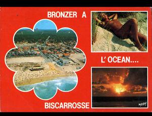 BISCARROSSE-40-NATURISME-a-la-PLAGE-amp-VILLAS-en-vue-aerienne-en-1987