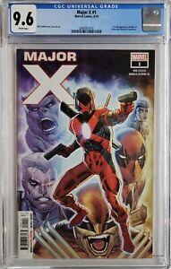MAJOR-X-1-CGC-9-6-1ST-APP-MAJOR-X-MARVEL-X-MEN-1ST-PRINT-SON-CABLE-DEADPOOL