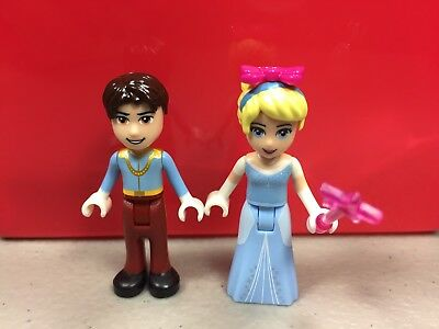 New Genuine LEGO Cinderella Minifig with Glass Slipper Disney Princess 10729