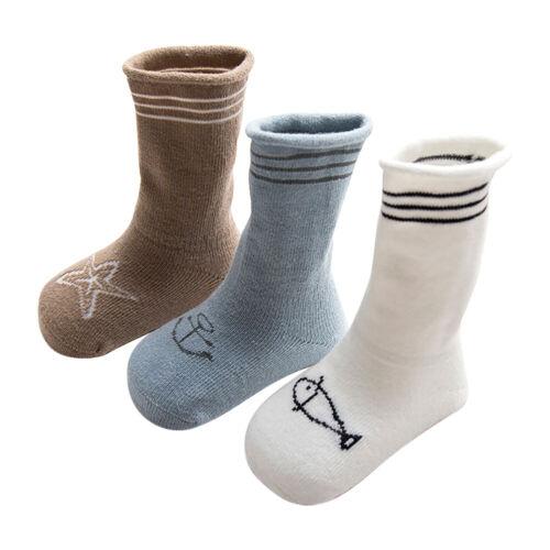 1//3 Pairs Newborn Toddler Baby Girl Knee High Princess Socks Long Tube Socks US