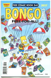 BONGO-COMICS-1-NM-FCBD-Bart-Simpson-Lisa-2017-more-Promo-items-in-store