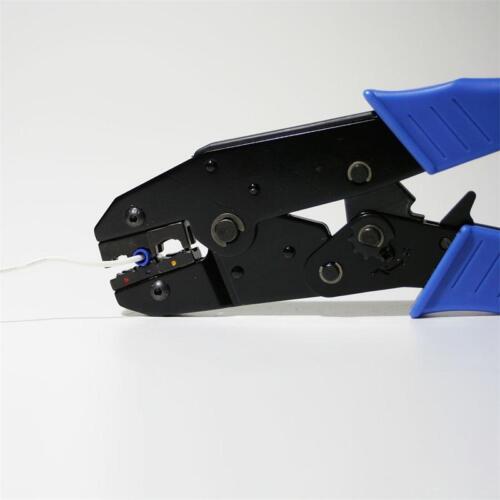 100 Scarpe Cavo TERMINALI piatti femmina blu 2,8x0,5mm per 1,5-2,5mm² Cavo Presa Scarpa