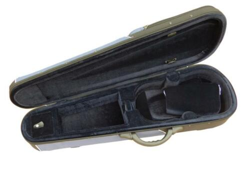 Geigenkoffer Geigenkasten Geigenetui 4//4 Größe in schwarz-blau neu