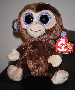 8d8a79e9eaf Ty Beanie Boos ~ COCONUT the Monkey (6 Inch)(GLITTER SPARKLY EYES ...