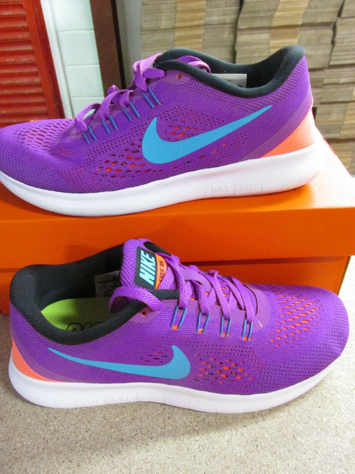 nike RN  Femme  free RN nike fonctionnement trainers 831509 500 Baskets  chaussures a79382