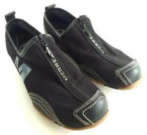 merrell barrado womens size 65 black casual walking slip