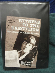 Details about WITNESS TO THE EXECUTION THE ODYSSEY OF AMELIA EARHART VHS &  SIGNED BOOK