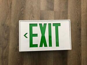 Modern-Backup-Letter-GREEN-LED-Emergency-Exit-Light-Sign-Fast-Ship