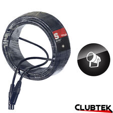 DMX High Quality Light Lead 20m 3pin XLR Stagg Lighting Controller Cable UK