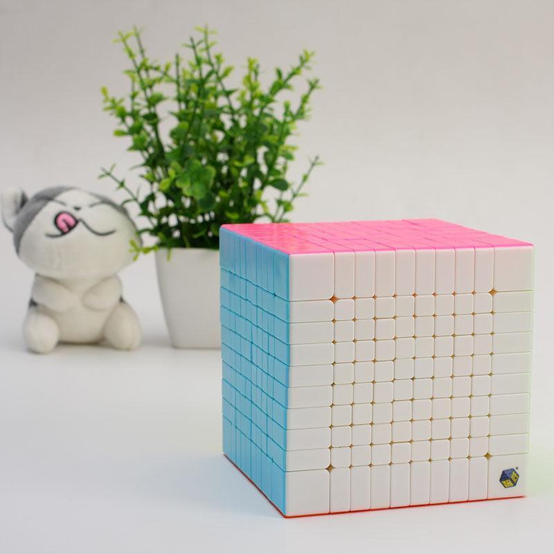 Yuxin 10x10 Cube Magique Professionnel Ultra-lisse Speed Cube Puzzle Toys   117  meilleure qualité meilleur prix